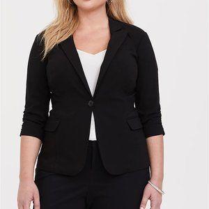 Torrid Black Blazer Size 2X